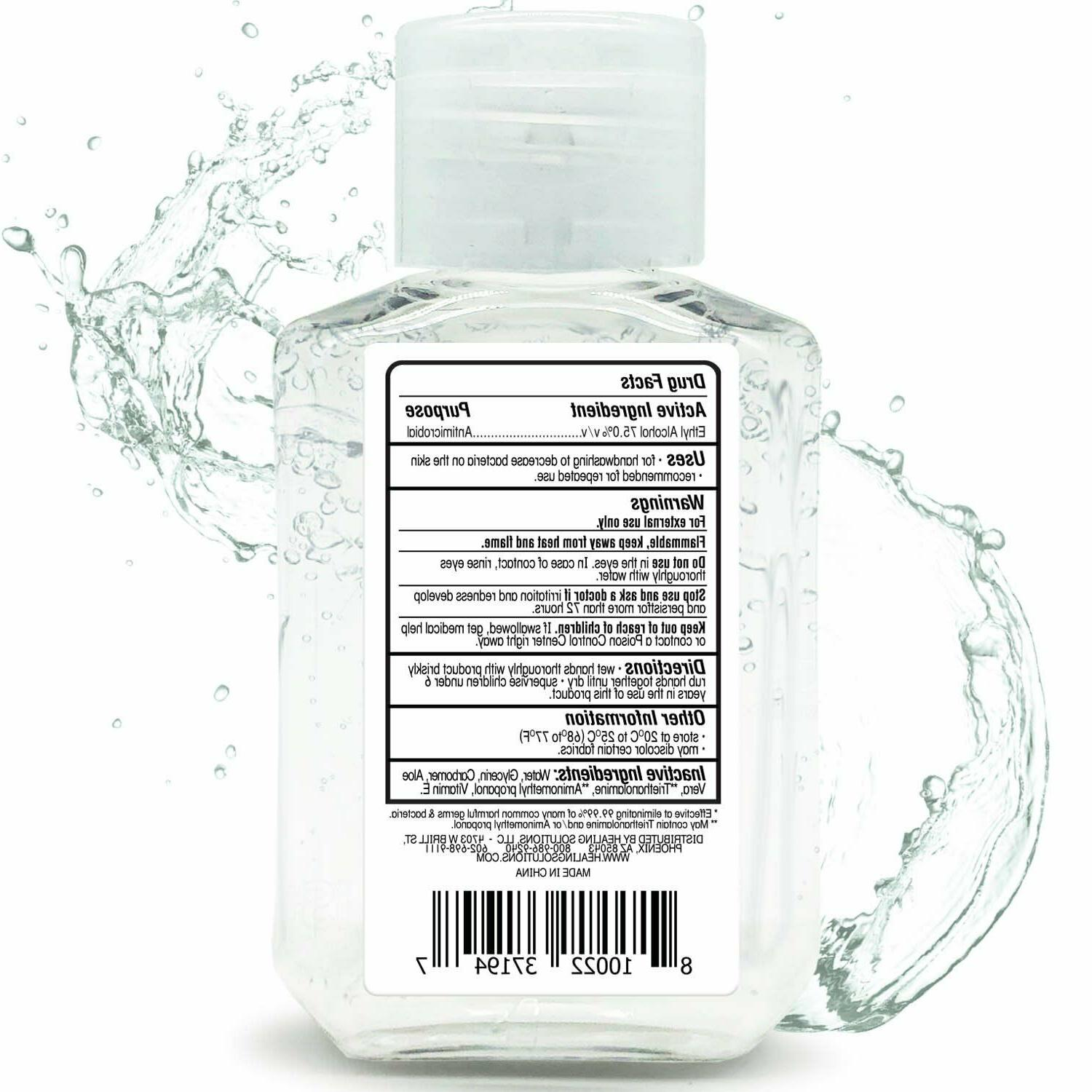 Hand Gel Alcohol Scent-Free