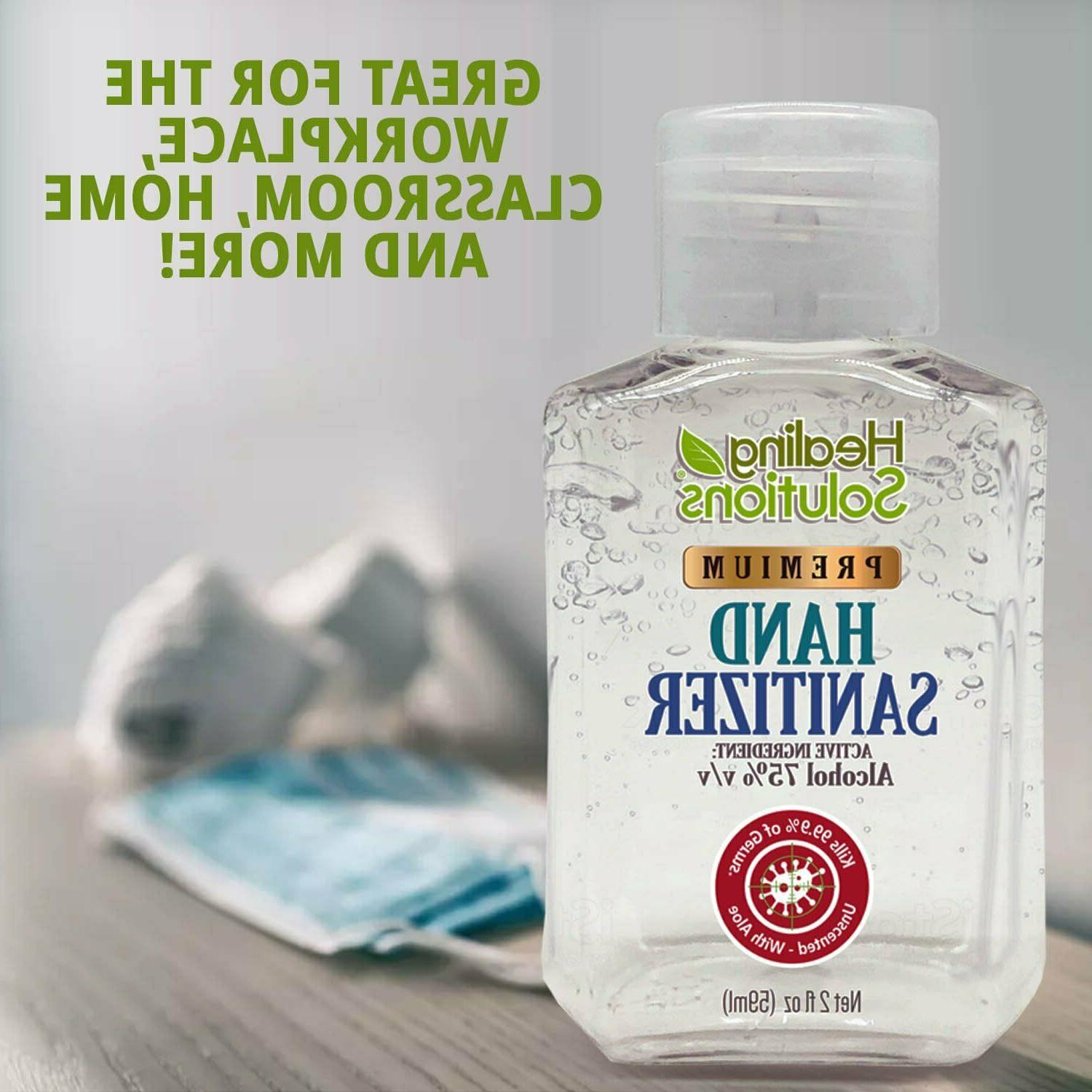 Hand 75% Alcohol Standards Scent-Free 2oz PACK