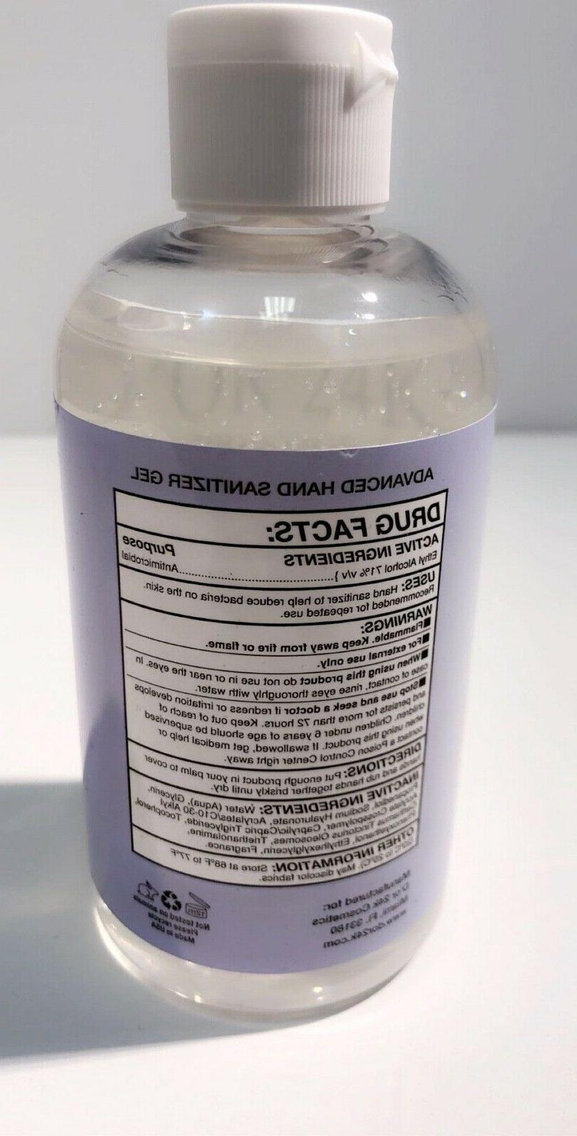 HAND GEL UNSCENTED 8 71% ALCOHOL MADE IN USA SHIPS