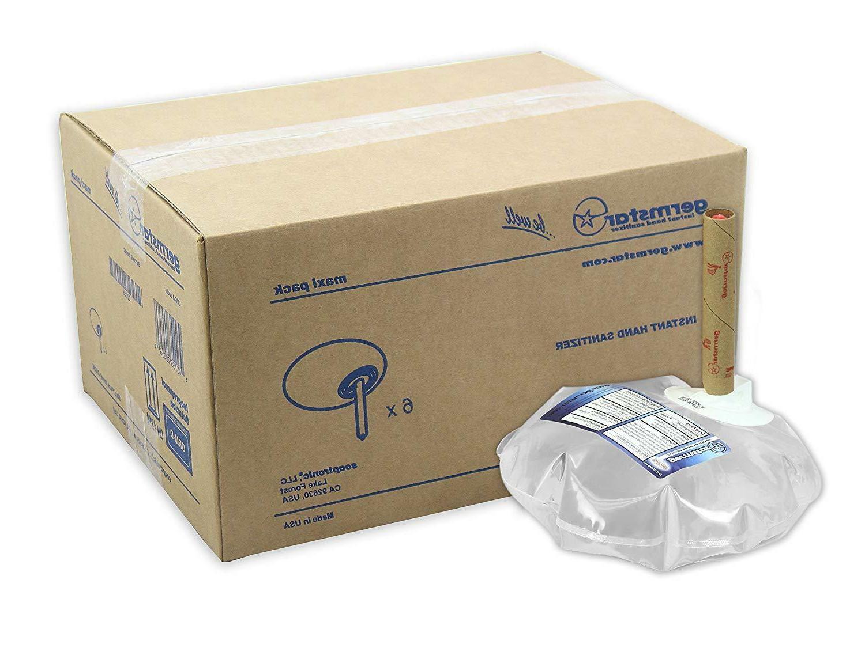 Germstar Sanitizer Pack, Original, 6