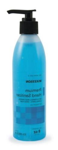 Hand Sanitizer McKesson Premium 8 oz. Ethanol Gel Pump Bottl