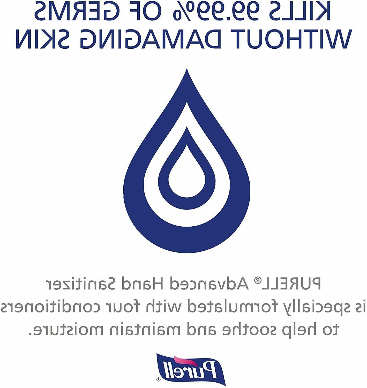 PURELL Advanced Hand Sanitizer Gel w/ PUMP, 33.8 oz 1 2