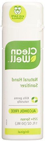 Cleanwell All-Natural Hand Sanitizer Original Scent, Pocket