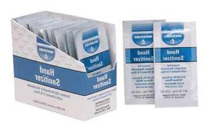 Hand Sanitizer,Size 0.9g,Gel,PK25 HONEYWELL NORTH 5501800