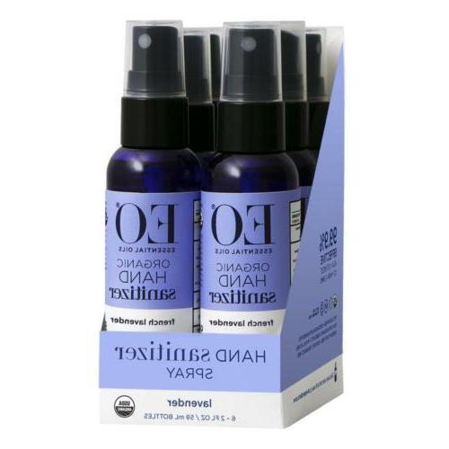 hand sanitizer spray organic french lavender 2