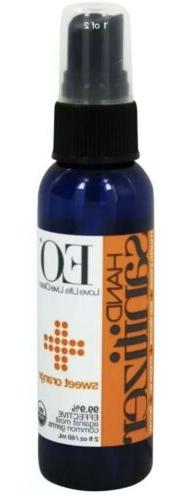 EO Products - Hand Sanitizer Spray Organic Sweet Orange - 2