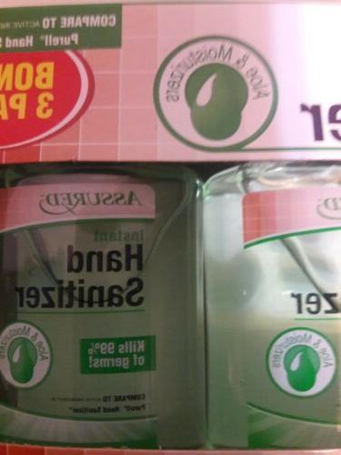 Hand Sanitizer w 3pk size ea