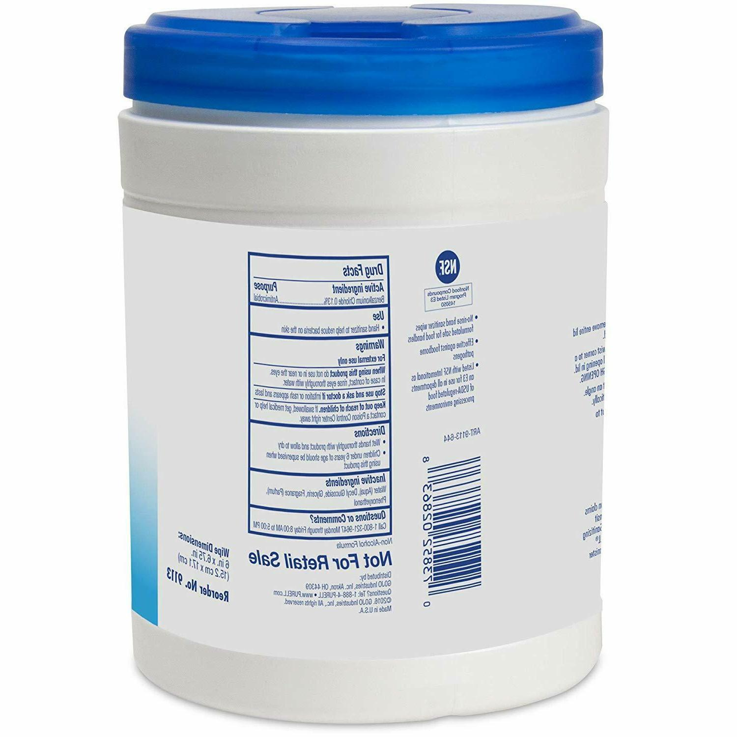 Hand Wipes 270 Count Scent