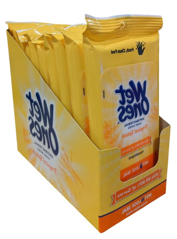 hand sanitizing wipes tropical 20 count flow