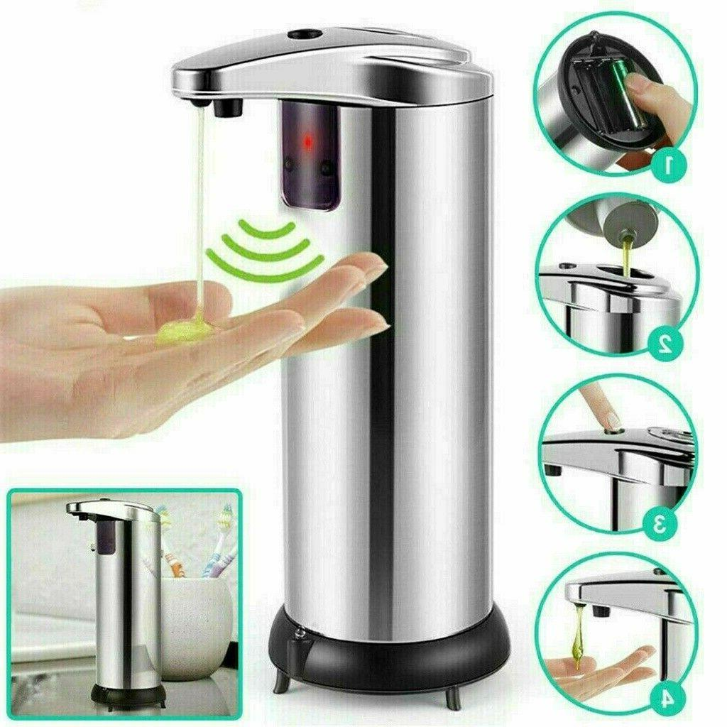 Hands Automatic Touchless IR Soap Sanitizer New