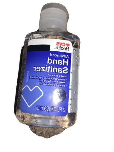 hands sanitizer 2 oz pump bottle kills