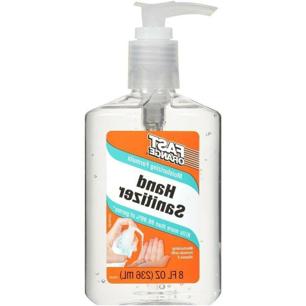 hands sanitizers 8oz 70 percent ethyl alcohol