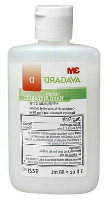 3m Avagard D Instant Hand Antiseptic with Moisturizers #9221
