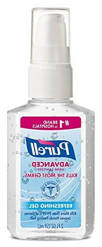 Purell Advanced Hand Sanitizer Refreshing Gel, Pump Bottle,
