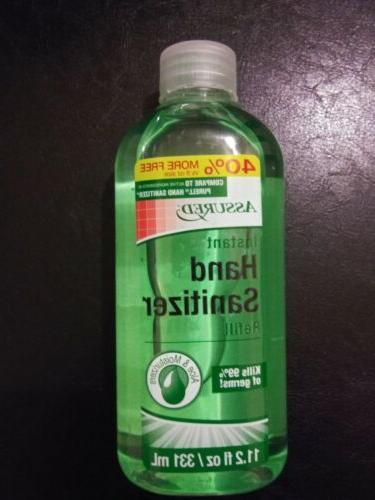 instant hand sanitizer aloe refill bottle 11