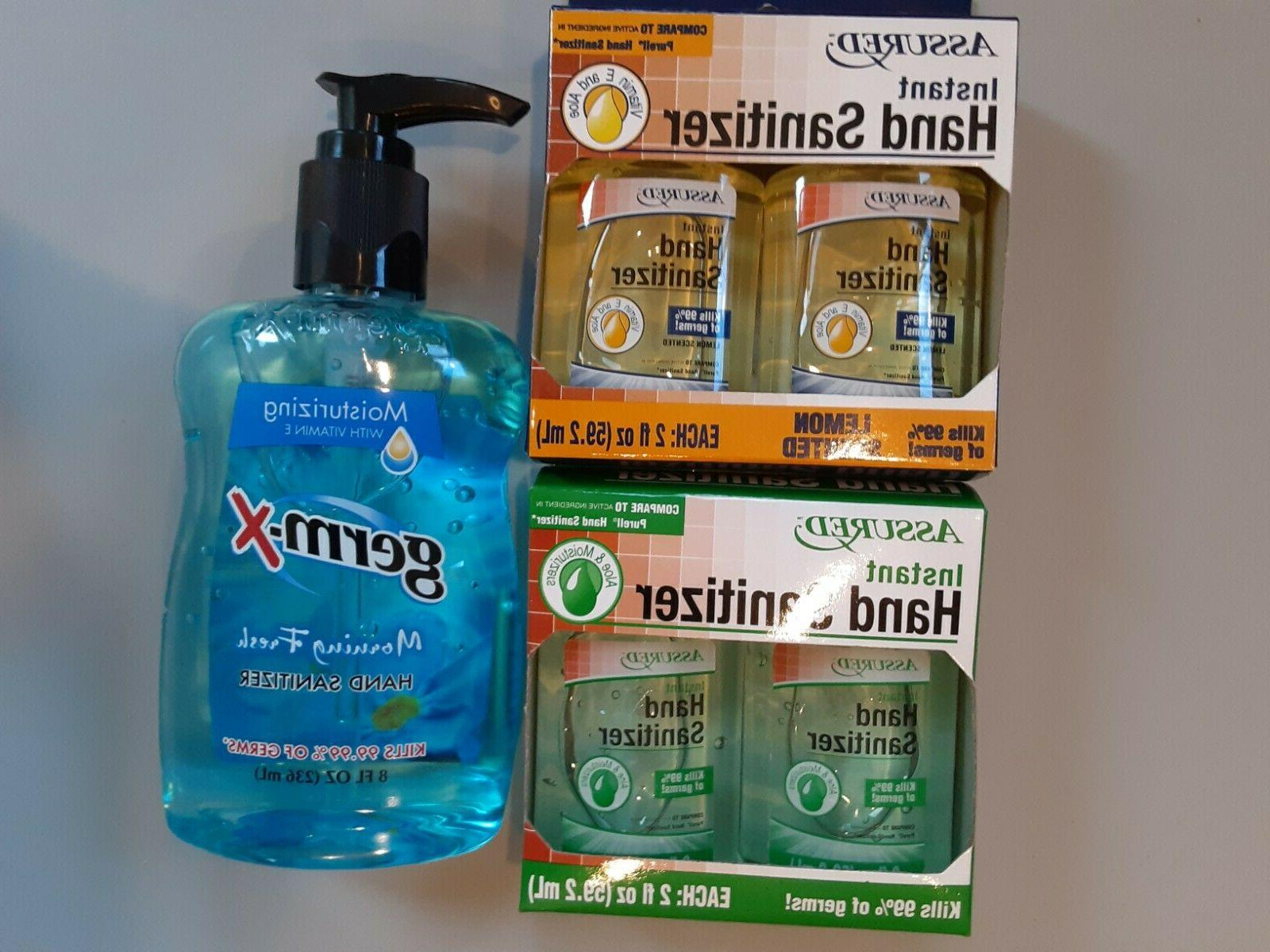 instant hand sanitizer travel size and 8oz