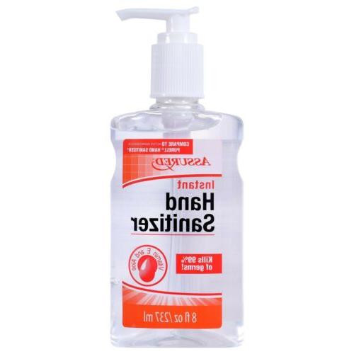 instant hand soap 8 oz kills 99