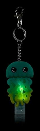 Bath & Body Works - Blue Green Glow LED Keychain