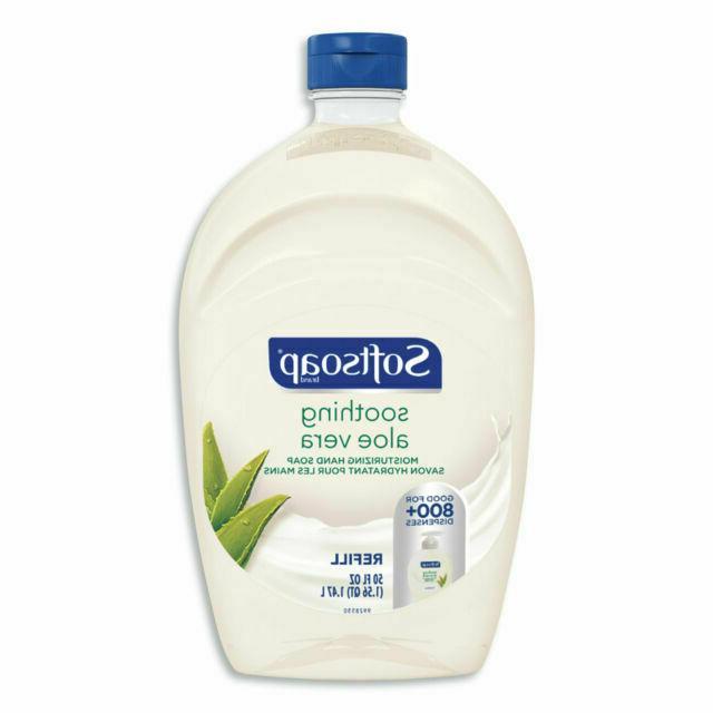liquid hand soap refill fresh aloe vera