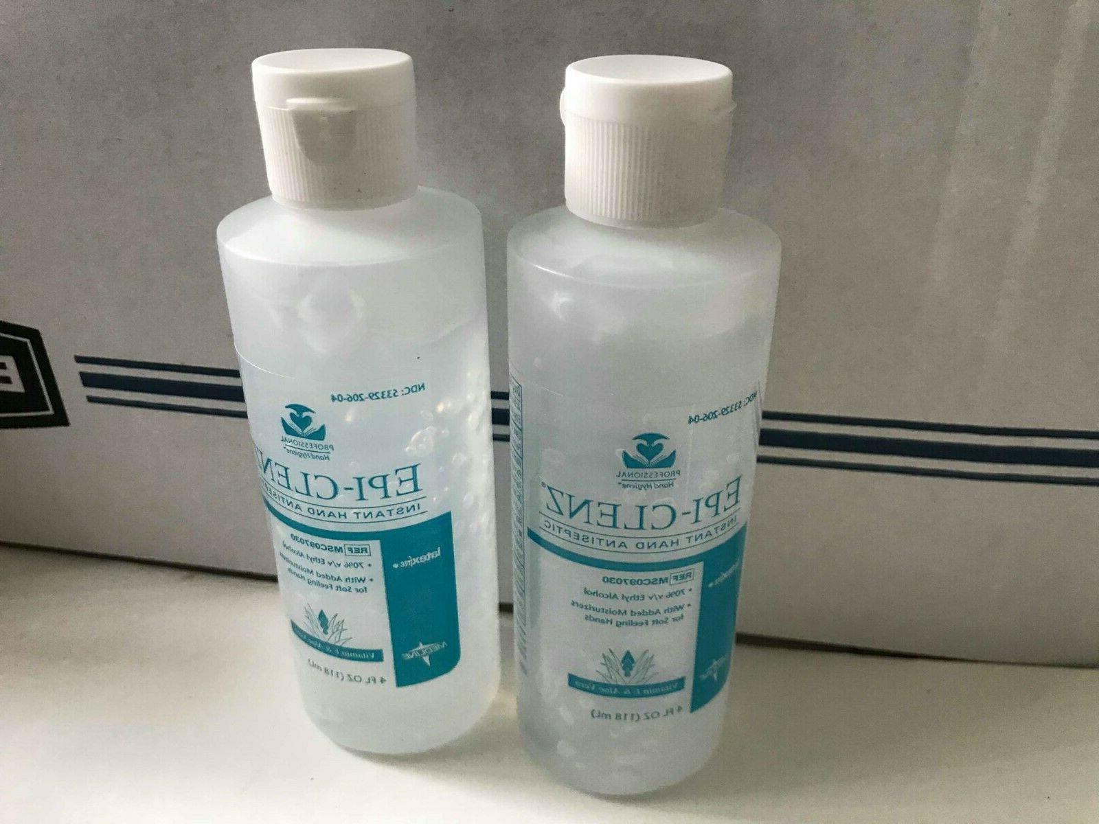 Epi-Clenz Hand Antiseptic moisturizers 4 fl