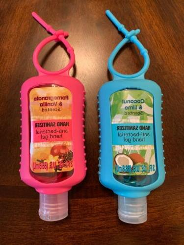 lot of two scented hand sanitizers