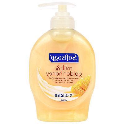 Softsoap Milk Honey Aloe & Chamomile Antibacterial Hand Soap