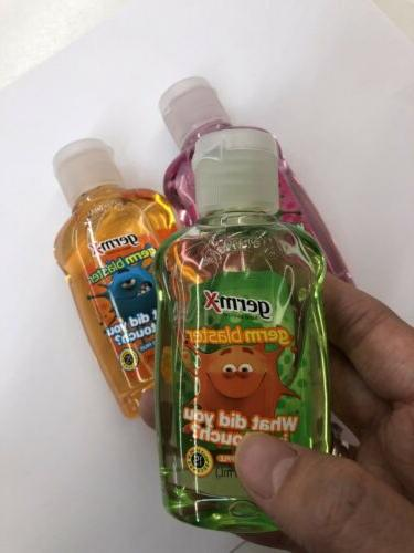 New! Travel Bottles Of Sanitizer