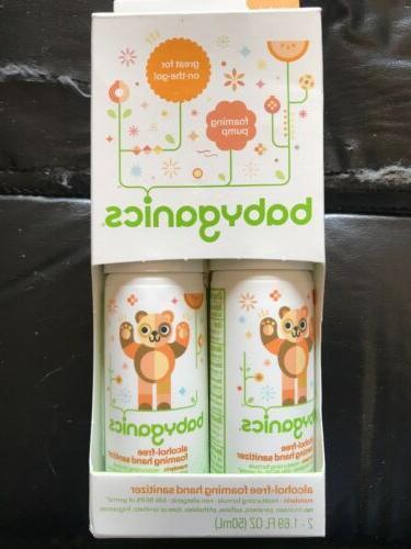 new alcohol free foaming hand sanitizer mandarin