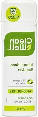 NEW CleanWell Botanical Hand Sanitizer Spray Original Scent