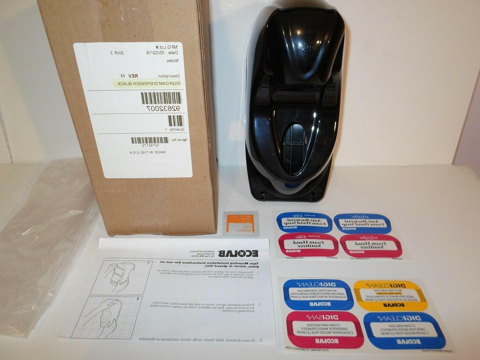 new digifoam hand sanitizer foam soap dispenser