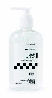 NEW! McKesson Hand Sanitizer w/ Aloe 8 oz. Gel Pump Bottle-1