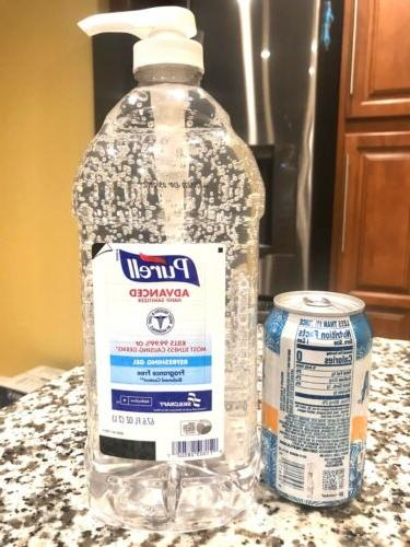 NEW 2 BOTTLE OF PURELL HAND 67.6