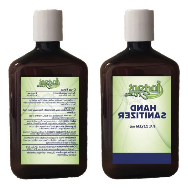 new hand sanitizer 8 oz bottle w