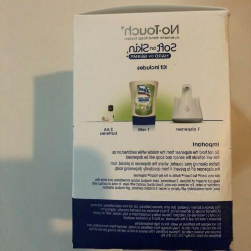 Lysol No Touch Automatic Hand Soap System Aloe