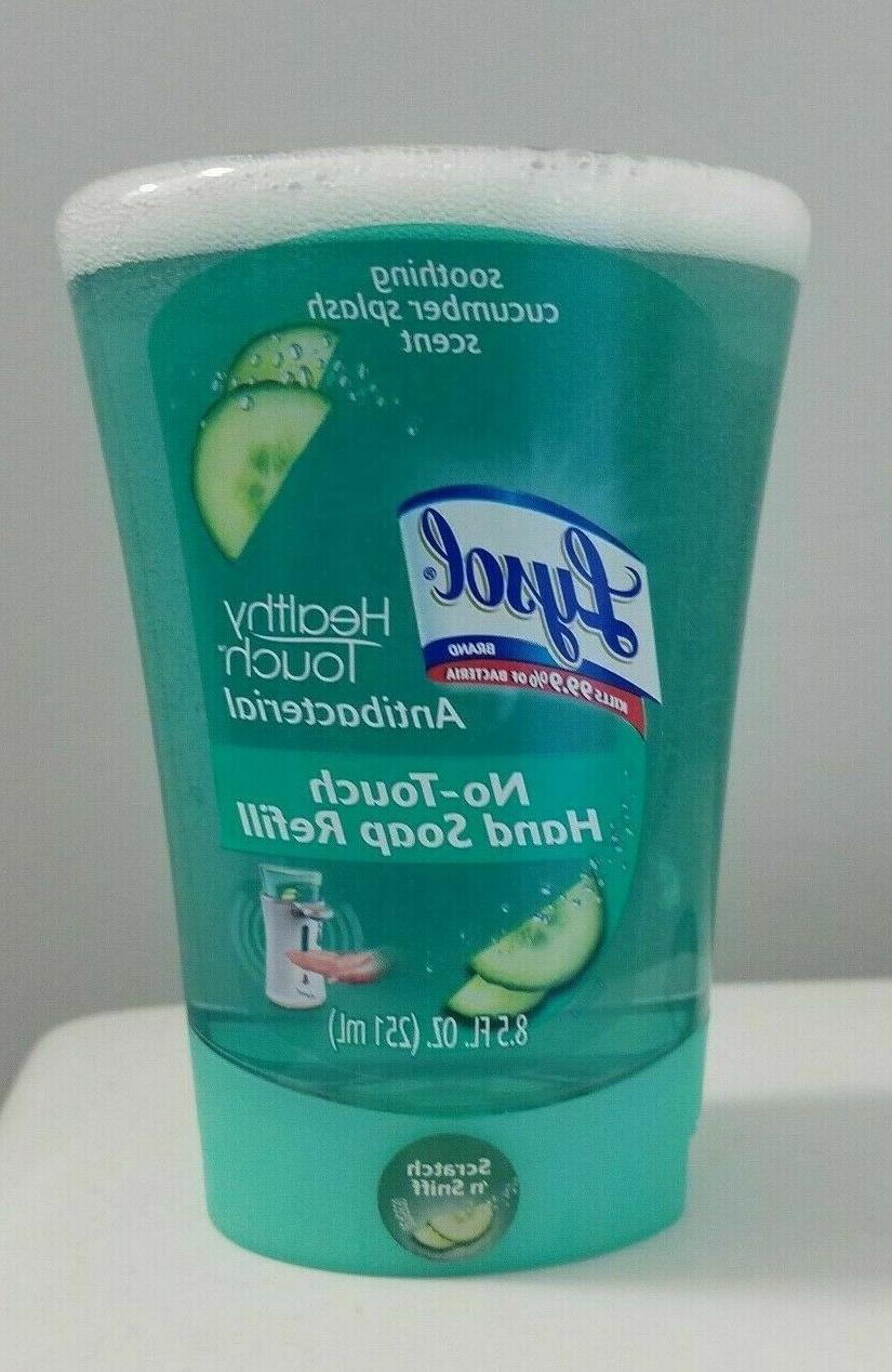 no touch refill soothing cucumber splash hand