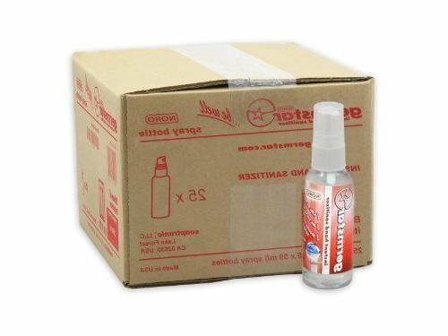 noro 2oz hand sanitizer spray bottles 25