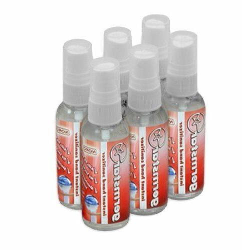 noro 2oz hand sanitizer spray bottles 6
