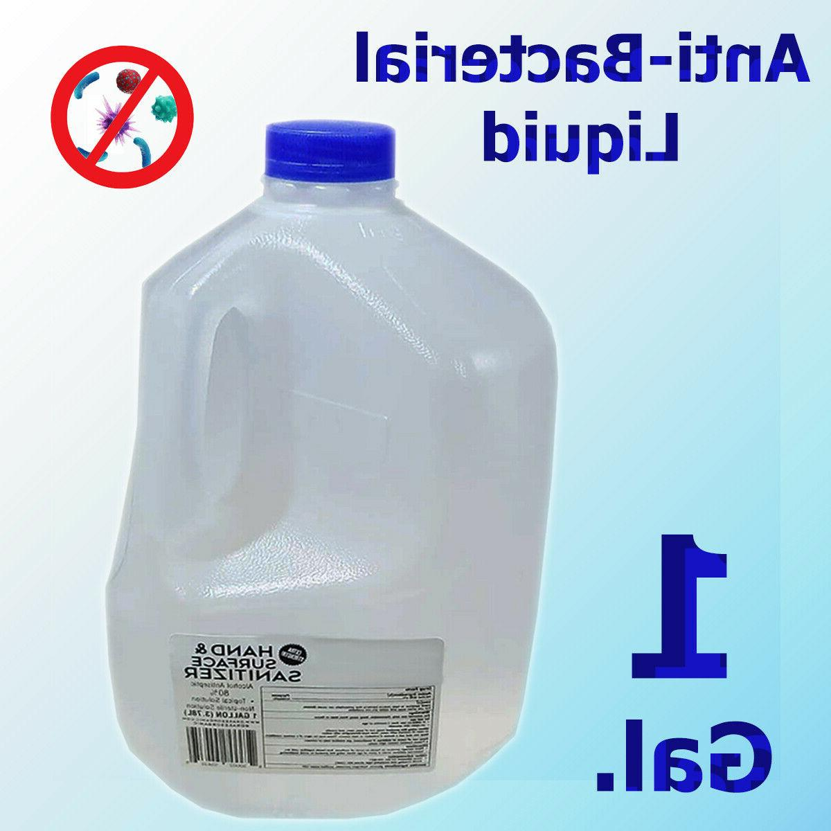 Organic Hand 80% Alcohol Gallon and Surfaces