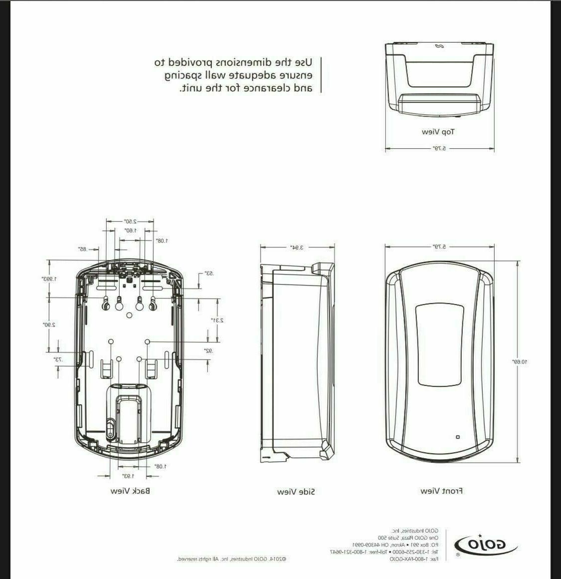 Less 1200ml Dispenser 1928 Box