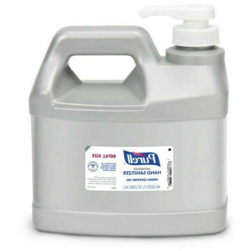 advanced hand sanitizer 1 2 gallon gel