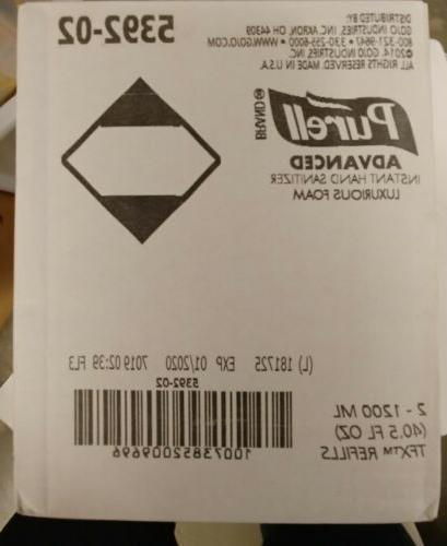 purell tfx instant hand sanitizer