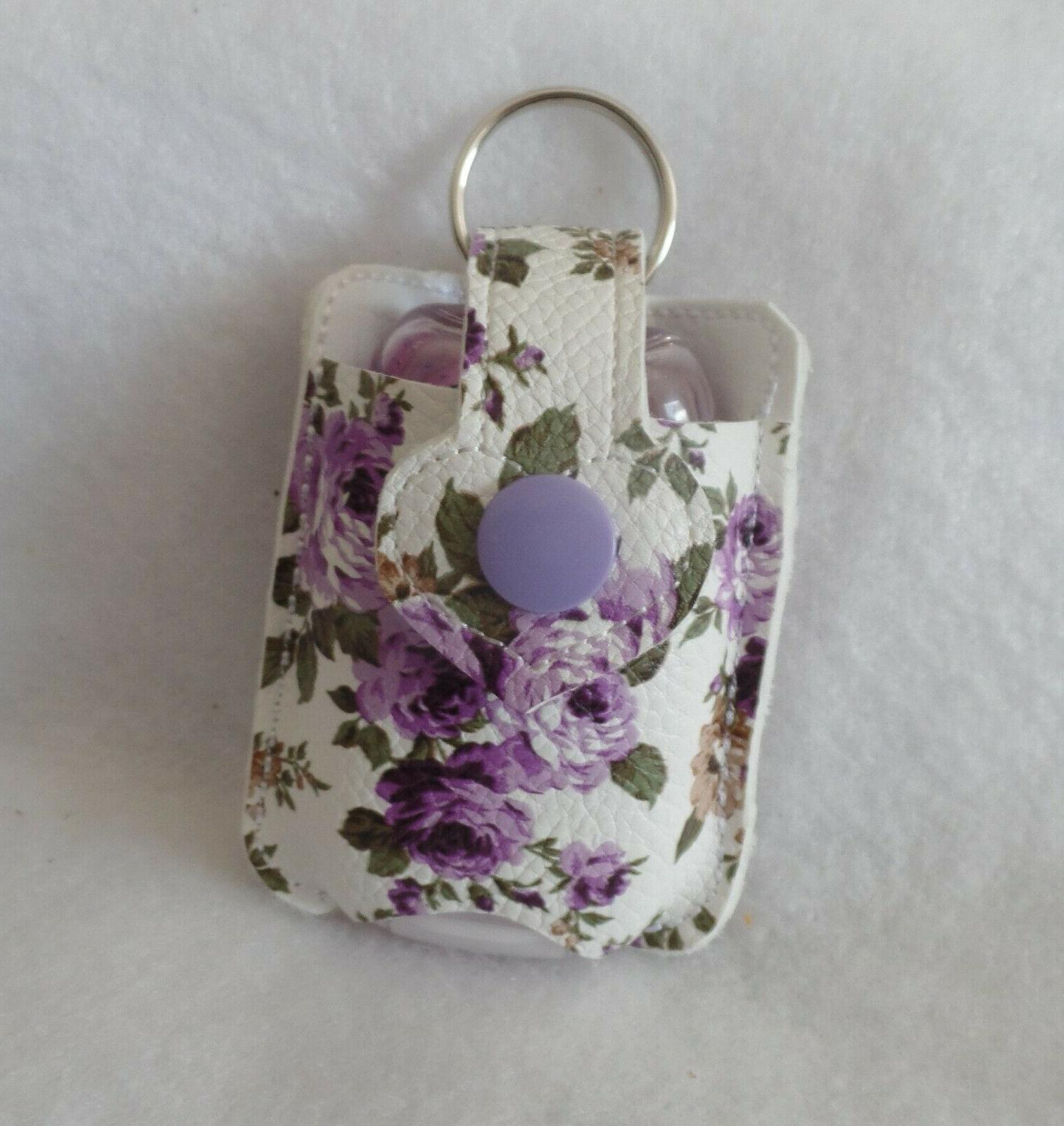 Purple Flowered Hand  HOLDER