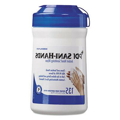 sani hands alc instant hand sanitizing wipes