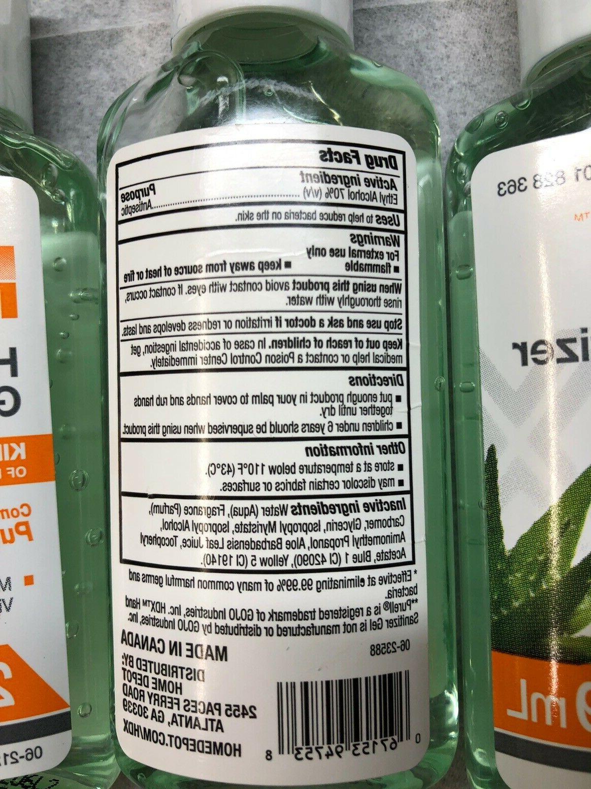 Sanitizer Compare Purell Germ-X Lysol Hands