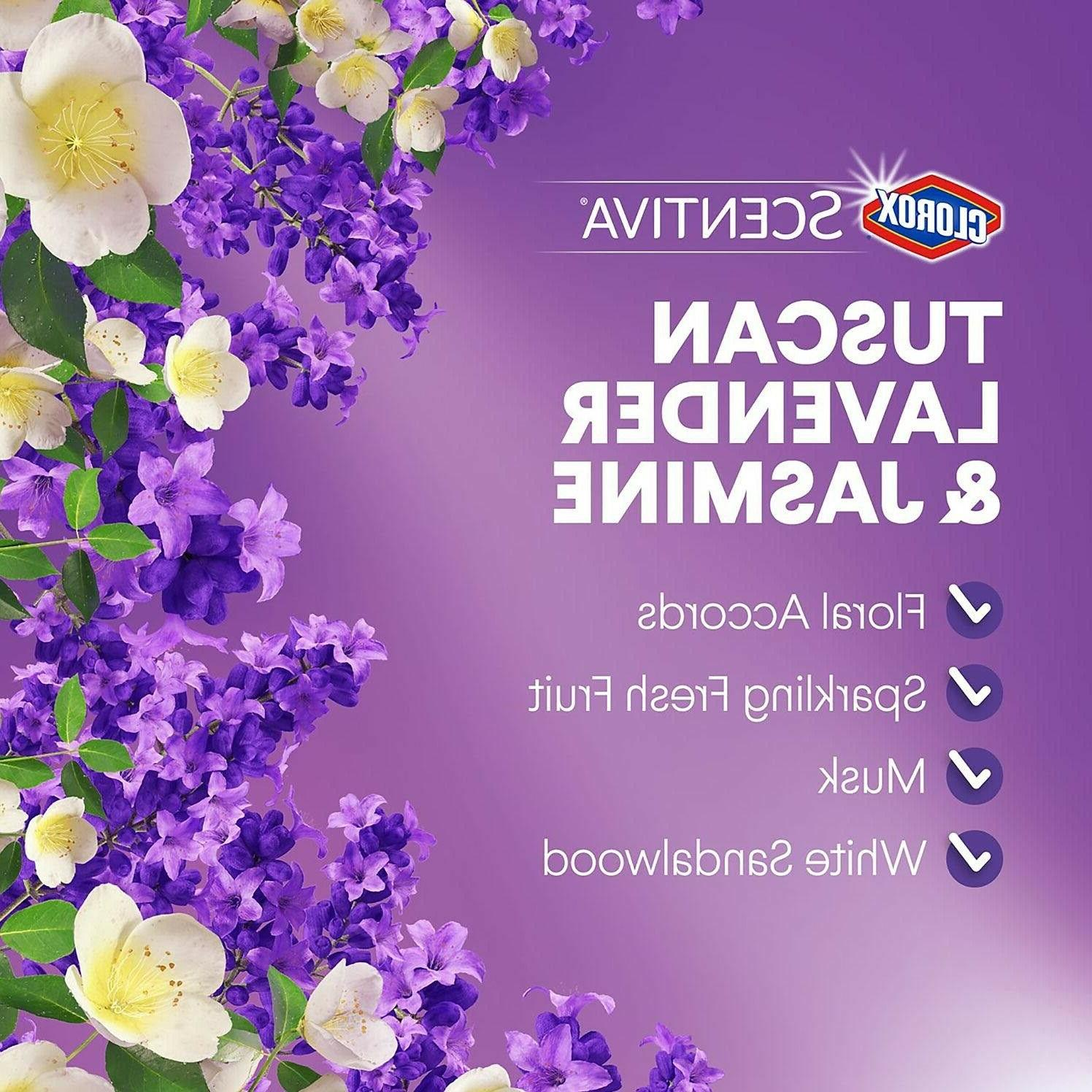 Clorox Scentiva Disinfecting Wipes, Tuscan Lavender &