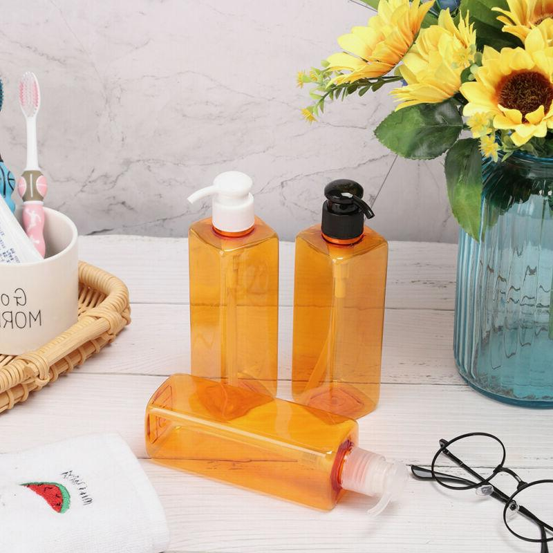 Shower Gel Hand Sanitizer Liquid Soap Bottle Pump Container