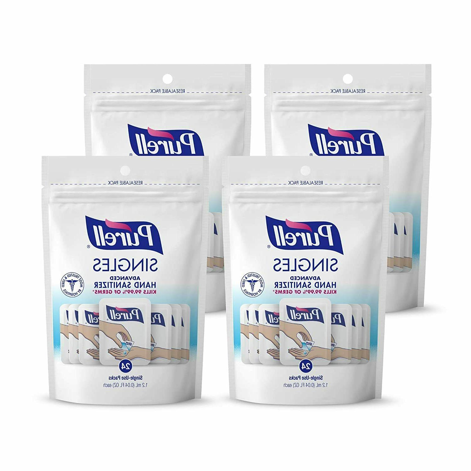 PURELL Sanitizer Sanitizing Gel Packets 24/Pouch