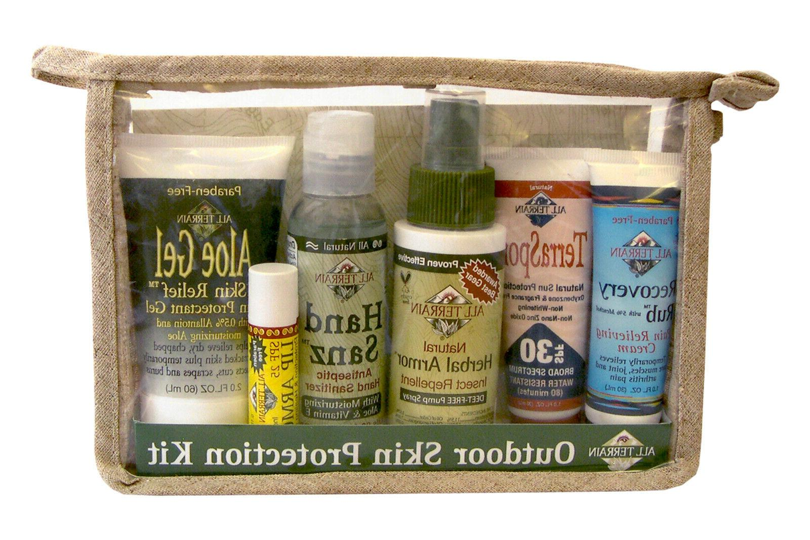 Outdoor Skin Protection Kit All Terrain 6 pieces Kit