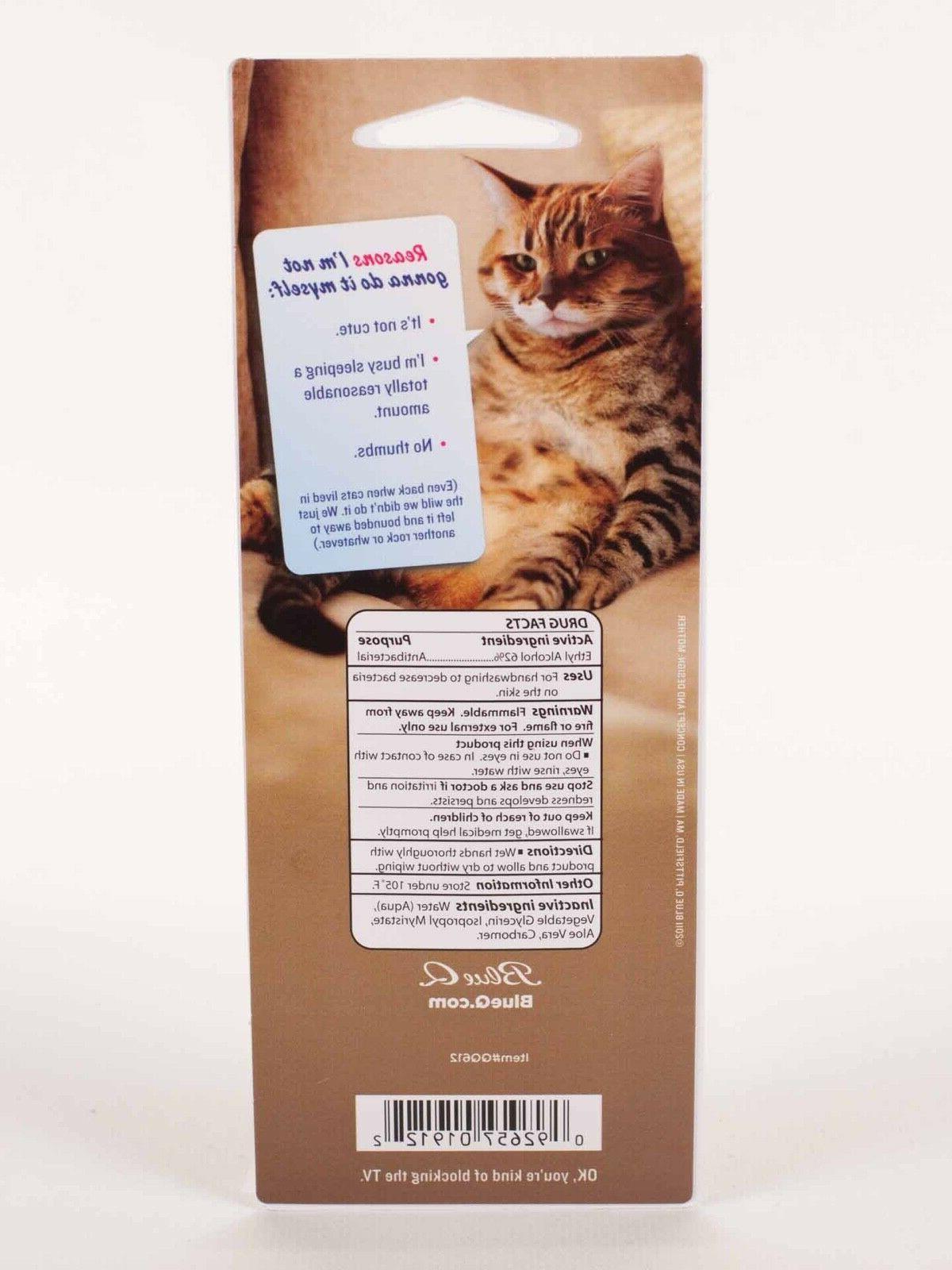 "Blue Q ""Thanks For Scooping Poop"" Sanitizer gift cat pet"