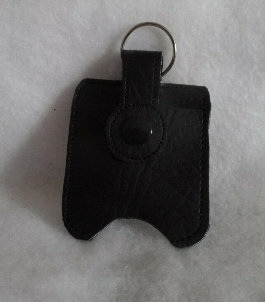 the guys black hand sanitizer holder